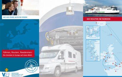 Die neue Info-Broschüre 2018 des Verband der Fährschifffahrt und Fährtouristik liegt jetzt vor. (Foto: FVV/det)