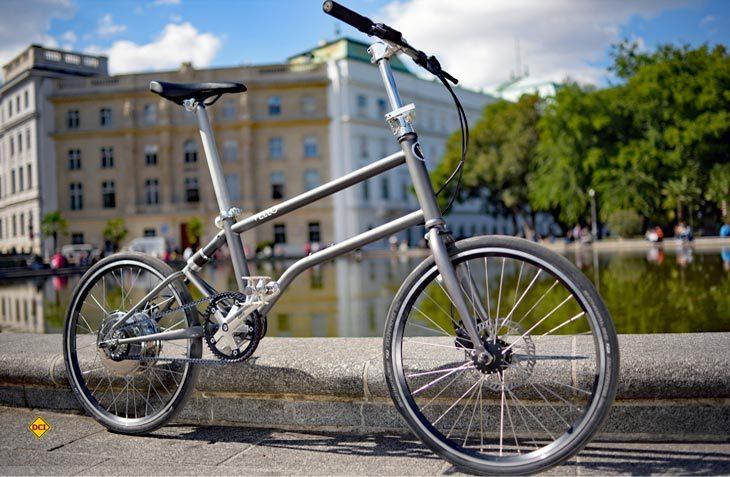 Mit dem Falt-E-Bike Bike+ stellt die österreichische Manufaktur Vello ein hochwertiges Faltrad mit tollem Design vor. (Foto: Vello)