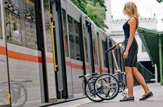 Dss Vello Faltrad Bike+ ist absolut stadttauglich, da es mit wenigen Handgriffen sehr einfach faltbar ist. (Foto: Vello)
