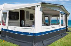 Der Name ist Programm: Das Caravan Ganzzelt Ambassador bietet hochwertige Verarbeitung und funktionelle Detaillösungen auf höchstem Standard. (Foto: dwt)