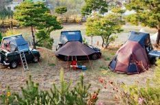 Das iKamper-Dachzelt kann mit verschiedenen Zubehörteilen nach Bedarf erweitert werden. (Foto: iKamper)