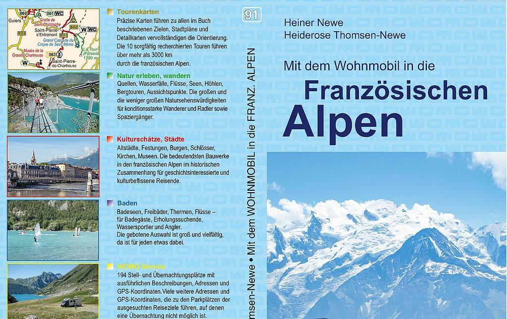 Die Reiseführer aus dem Womo-Verlag überzeugen mit umfangreichen Tourenbeschreibungen und zahlreichen hilfreichen Tipps, wie den Stellplatzdaten der Region. (Foto: Verlag)