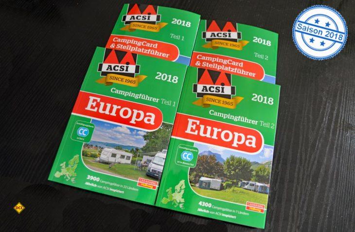Campingführer, Campingcard und aktuelle Apps sowie Campingreisen sind die Spezialität vom niederländischen Camping-Profi ACSI. (Foto: det)