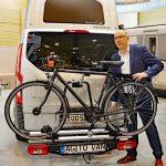 Fahrrad und Reisemobil gehören zusammen – Al-Ko hat die passende Lösung