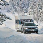 Hobby Caravan-Wintertest bei minus 18 Grad