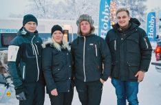 Die Test-Crew der schwedischen Hobbyhändler führte den Test auf einer Rundreise durch. (Foto: Hobby)