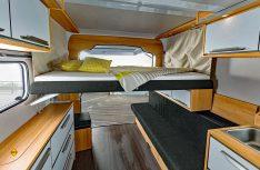 Optional gibt es ein Hubbett für den Knaus Deseo. (Foto: Knaus)