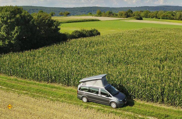 Den Sunvan V27 von Köhler gibt es auch auf Basis des Mercedes-Benz Vito mit Einzelsitzen im Wohnraum. (Foto: Köhler)