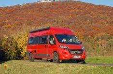 Der VanTourer ist ein durchgestyltes Kompaktreisemobil für Reise und Alltag. (Foto: det)