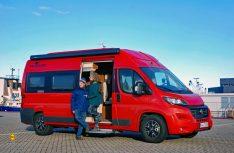 Fesche Kiste für Zwei: Der VanTourer 600 von Eurocaravaning. (Foto: alf)