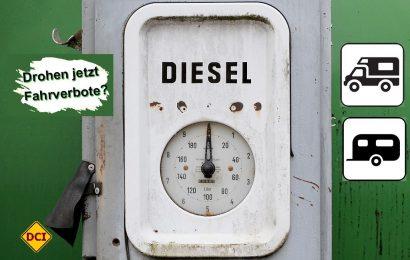 Bewegte Zeiten für Dieselbesitzer. Wohin geht die Fahrt für die Reisemobilisten und Wohnwagen-Eigentümer? D.C.I. berichtet, bewertet und hilft weiter. (Foto: pixabay.com / motointermedia)