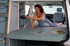 Campingbus für Vier: Der VW California. (Foto: Werk)