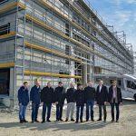 Dethleffs feiert Richtfest der neu gebauten Werkshalle