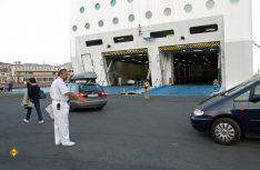Wer in die heimische Garage kommt, hat auch mit modernen RoRo-Fähren keine Rangierprobleme, selbst mit großen Mobilen nicht. (Foto: D.C.I.-Archiv)