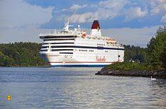 Keine alten Pötte mehr auf den Fährlinien. Die neuen Schiffe gleichen Kreuzfahrtschiffen und fahren seidenweich. (Foto: Viking Line)