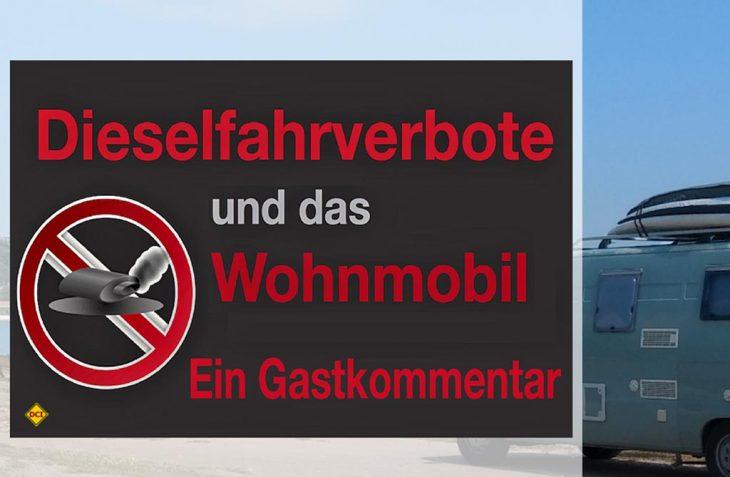 Gerfried Reis von der österreichischen Womo-Webseite WoMo Guide kommentiert die drohenden Fahrverbote für Diesel-Wohnmobile in Deutschland. (Foto: WoMoGuide)