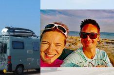 Olya und Gerfried Reise betreiben in Graz die Wohnmobil-Webseite WoMoGuide. (Foto: WoMoGuide)