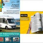 Mobil Total – Europas größter Reisemobil Stellplatz-Katalog liegt vor