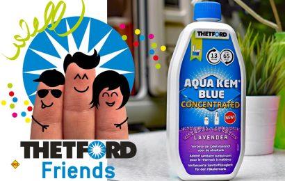 Sanitär-Spezialist Thetford hat seine neuen Sanitärkonzentrate der Aqua Kem Blue-Serie von Benutzern ausführlich testen lassen. (Foto: Thetford)