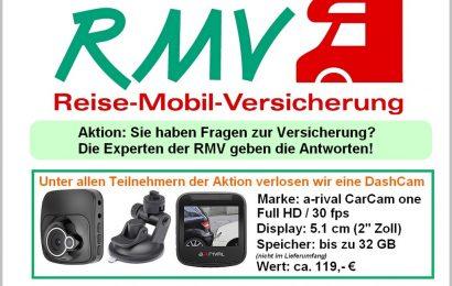 Die RMV berät und versichert seit mehr als 30 Jahren Kunden im Bereich Wohnmobile, Wohnwagen und alles, was mit der mobilen Freizeit zu tun hat. (Foto: RMV)