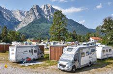 Deutsche Campingplätze - hier Camping Ressort Zugspitze - locken mit hohem Standard und moderaten Preisen für die Saison 2018. (Foto: Camping Ressort Zugspitze)