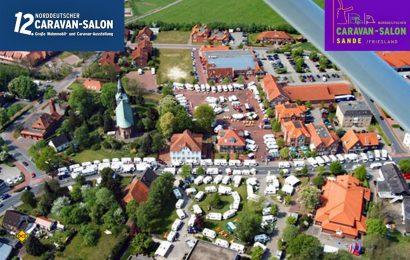 Schon eine Traditionsveranstaltung im hohen Norden: Der 12. Norddeutscher Caravan-Salon in Sande ist die größte Freiluftmesse rund um das Thema Caravaning im Raum Oldenburg / Friesland. (Foto: Caravan Salon Sande)