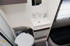 Der Waschraum mit Cassetten-Toilette. (Foto: det)