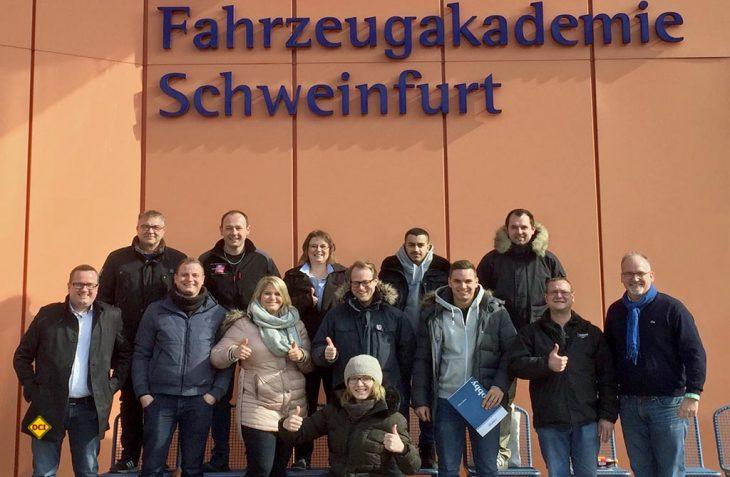Hobby Händlerschulung 2018 in der Fahrzeugakademie Schweinfurt. (Foto Hobby)