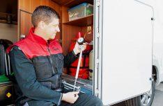 Sicher ist sicher: Mit einem Check der Gasanlage und einer Gasprüfung ist man auf der sicheren Seite. (Foto: KÜS)