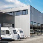 Werksabholung bei Knaus Tabbert im neuen Auslieferungszentrum möglich