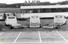 Erst das leichte und komfortable amc-Tiefrahmenchassis von Alko ermöglichte Bürstner einen flachen Aufbau für ein teilintegriertes Reisemobil. (Foto: Al-Ko)