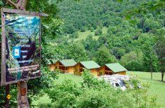 Nahe der Tara-Schlucht ist ein Camping- und Reisemobil-Stellplatz in toller Lage entstanden. (Foto: det)