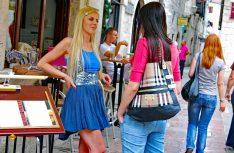Harter Wettkampf um die männlichen Wesen: In Montenegro herrscht drastischer Frauenüberschuß in der Bevölkerung. (Foto: det)