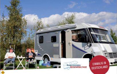 Die Niederrheinischen Reisemobiltage sind der Frühlings-Klassiker für Gäste mit Reisemobil schlechthin und weit über die Grenzen der Region bekannt. (Foto: Niederrhein Tourismus)