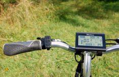 Das LCD-Multifunktionsdisplay ist informativ und einfach zu bedienen. (Foto: alf)