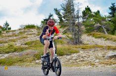 Der Härtetest: Das RSM Mobilist auf Passfahrt am Col de Lure. (Foto: det)