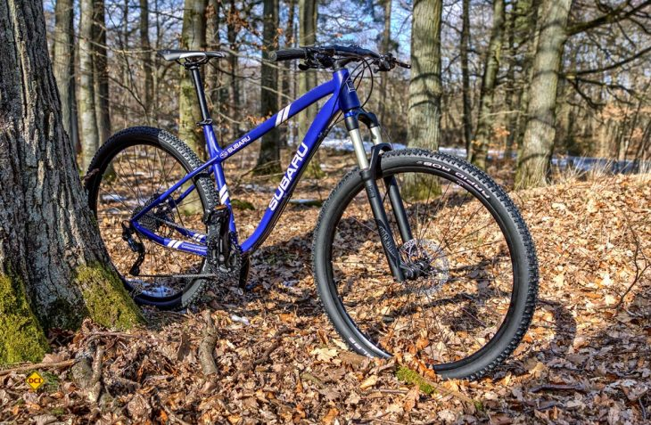 Hinterlassen weder in freier Natur noch in Großstädten schädliche oder ungesunde Abgase – die neuen Elektro-Mountainbikes vom Allradspezialist Subaru (Foto: Subaru Deutschland)