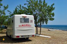 Noch gut in Erinnerung ist der Familie Schulz die Recherche-Reise rund um den Peloponnes mit dem Wanner Mobil im vergangenen Jahr 2017. (Foto: Verlag)