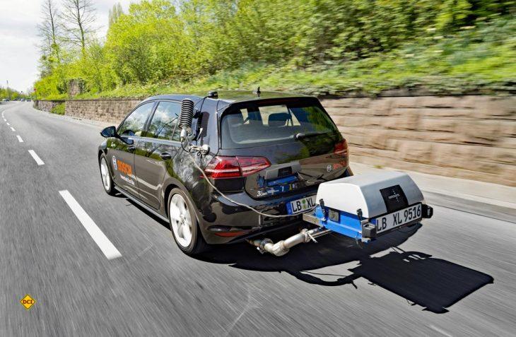 Kaninchen aus dem Hut: Bosch hat auf seiner Bilantpressekonferenz die Lösung aus dem Diesel-Gate gefunden und kann sie der Autoindustrie anbieten. (Foto: Bosch)