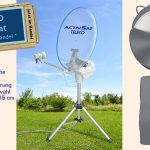 Teleco Activ SAT – vollautomatische Satelliten-Schüssel an den Gewinner überreicht