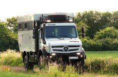 Mercedes-Benz Unimog U 4023 – Fernreisemobil Bocklet Dakar U690. (Foto: Mercedes-Benz)