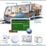 Rundumschutz für Wohnwagen und Wohnmobile mit dem CaravanTab Sicherheitssystem
