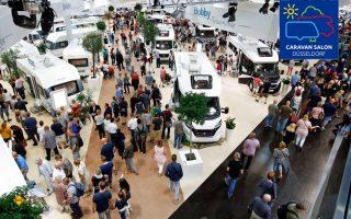 Der Caravan Salon 2018 wirft als weltgrößter Hotspot für Caravaning und mobile Freizeit seine Schatten voraus. (Foto: Caravan Salon/Tillmann)