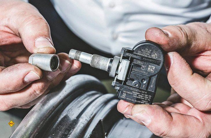 Ohne funktionierendes Reifendruckkontrollsystem gibt es keine Plakette bei der Hauptuntersuchung. (Foto: Pneuhage)