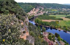 Eine Route mit tiefen Schluchten und viel Kultur: Entlang der Dordogne in Südwestfrankreich. (Foto: McRent)