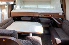 Das Hubbett im integrierten Comfort I 675 G. (Foto: Werk)