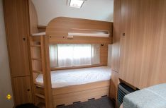 Die Stockbetten im neuen Kinderbetten-Grundriss LMC Style 582 K (Foto: Werk)