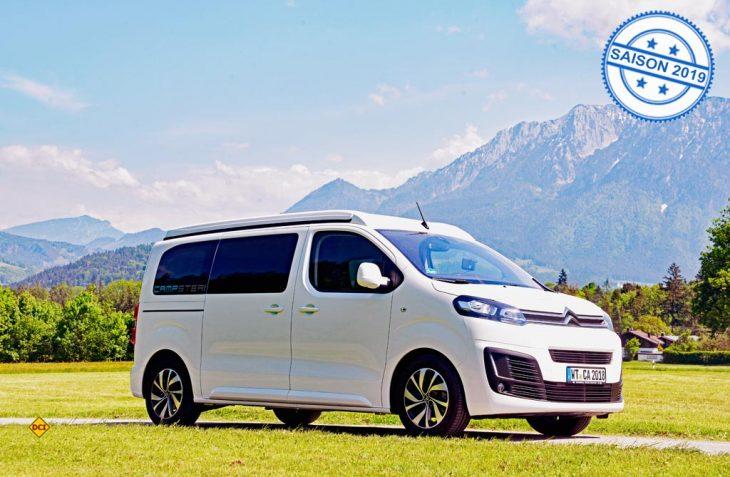 Mit dem Campster auf dem Citroën SpaceTourer bietet Pössl einen komplett ausgestatteten Campingbus im Einsteigerbereich an. (Foto: det)