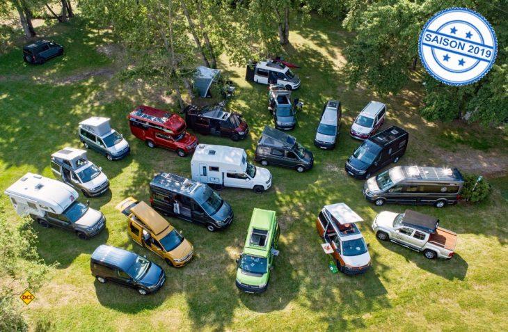 Reisemobilkompetenz zeigt Volkswagen auf vier Basisfahrzeugen bei vielen Aus- und Aufbauern. (Foto: VWN)