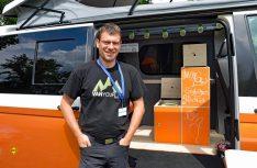 Martin Hemp von der Vanufaktur. (Foto: det)